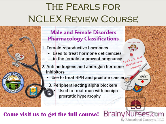 Male Female NCLEX